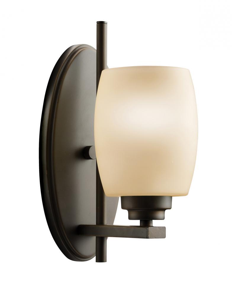 Joshua Marshal Olde Bronze 4.5in. Wide Single-Bulb Bathroom Lighting Fixture at Sears.com